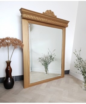 Miroir / trumeau doré