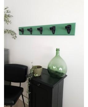 Portemanteau ancien vert